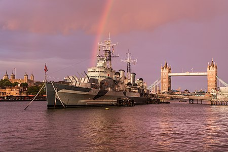 HMS Belfast with rainbow.jpg