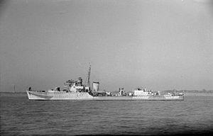 HMS Berkeley (L17) - Image: HMS Berkeley 1942 IWM FL 1803