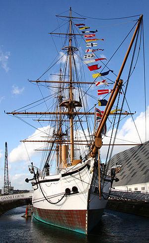 HMS Gannet (1878) - HMS Gannet