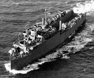 HMS Oceanway (F143) - HMS Oceanway (F143) off Norfolk, Virginia (USA), in April 1944