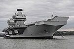 HMS Queen Elizabeth conducts vital system tests off the coast of Scotland MOD 45162795.jpg
