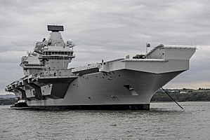 HMS Queen Elizabeth conducts vital system tests off the coast of Scotland MOD 45162795.jpg