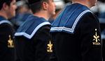 HMS Vanguard's Port ship's company, Divisions, Jan 2013 04.jpg