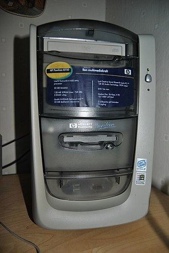 HP Pavilion (computer) - HP Pavilion 8750 (2000/2001).