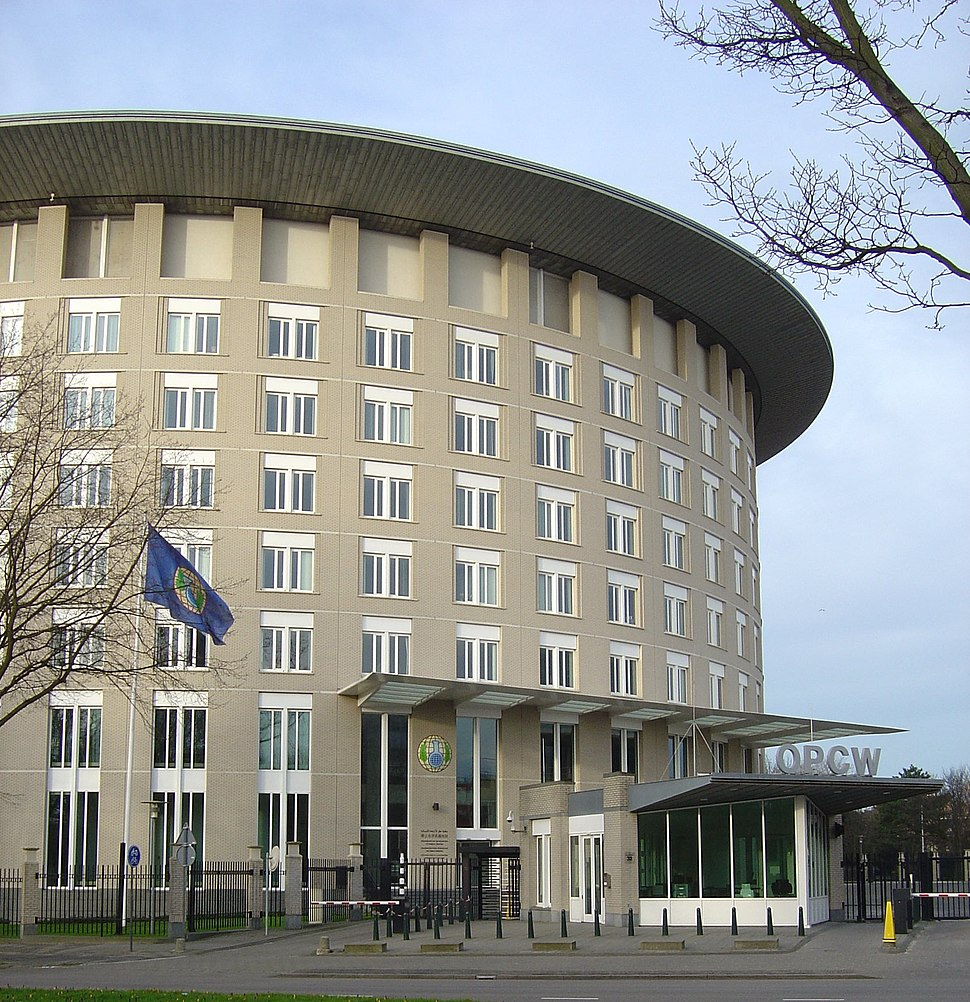 HQ of OPCW in The Hague
