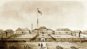 York Factory - York Factory in 1853