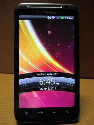 Mobile broadband - HTC ThunderBolt, the second commercially available LTE smartphone