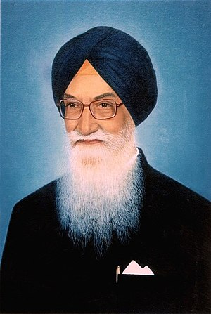 Barnala district - H E Shri Surjit Singh Barnala