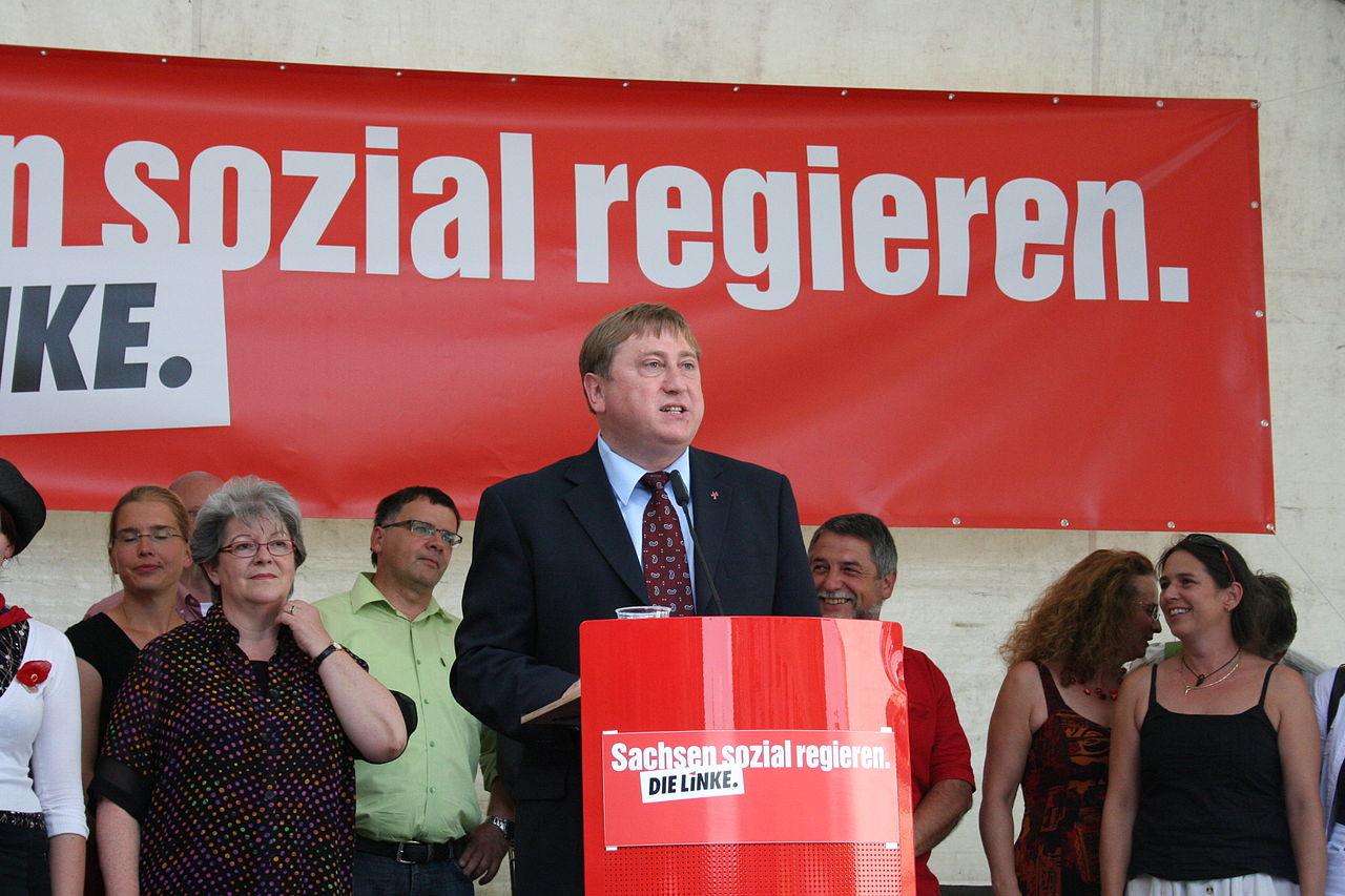 Hahn Wahlkampfauftakt, August 2009 - by Die Linke Sachsen.jpg