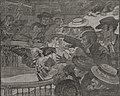 Hahnenkampf in Spanien. Zeichnung von Otto Boyer (ohne Datum).jpg