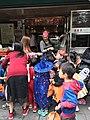 Halloween Parading of Kindergarten's Children at Xindong Street, Songshan District, Taipei 20171024e.jpg