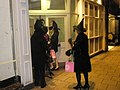 Halloween revellers just about to enter The Jasmin in Thames Street - geograph.org.uk - 1563714.jpg