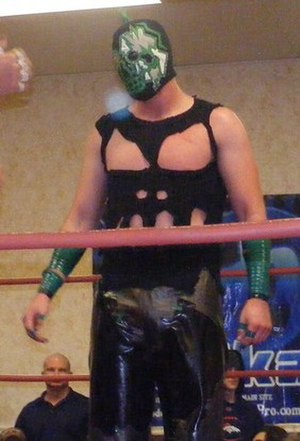 Chikarasaurus Rex: How to Hatch a Dinosaur - Hallowicked, who has been with Chikara since the promotion's first event in May 2002
