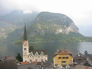 Upper Austria - Hallstatt, a village in Upper Austria