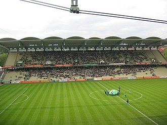 Gerhard Hanappi Stadium - Image: Hanappi Stadion Nord