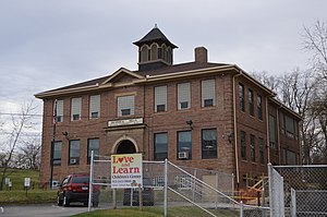 Braddock Hills, Pennsylvania - Former school