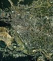 Hanno city center area Aerial photograph.1989.jpg