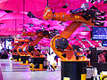 Hannover - CeBit 2015 - DT Industrie 40 - Roboter 008.jpg