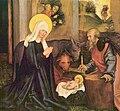 Hans Schäufelein-Marien- und Passionsaltar, Geburt Christi.jpg