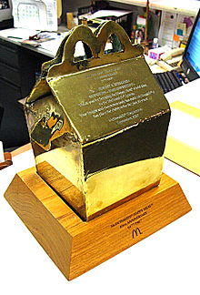 Award for creation of Happy Meal packaging