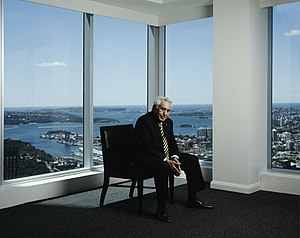 Harry Triguboff - Triguboff in his World Tower penthouse apartment