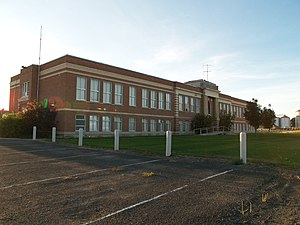 National Register of Historic Places listings in Grant County, Washington - Image: Hartline School