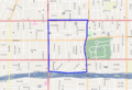 Harvard Heights, Los Angeles neighborhood boundary large.png