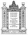 Harvard University Strobel Fund bookplate.jpg