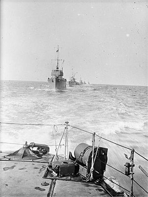 Torpedo boat - Destroyers of the Harwich Force in WWI