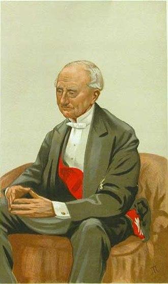 First Sea Lord - Image: Hastings Yelverton Vanity Fair 23 June 1877