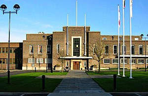 Romford - Image: Havering town hall london
