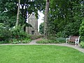 Haworth Church from the Bronte Museum Parsonage garden - geograph.org.uk - 415581.jpg