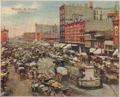 Haymarket Square, Chicago Circa 1905 (front) (cropped).png