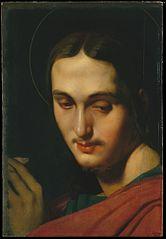 Tête de saint Jean l'Évangéliste