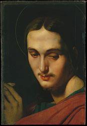 Jean-Auguste-Dominique Ingres: Tête de saint Jean l'Évangéliste