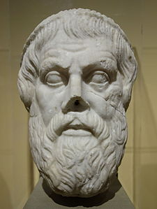 Head of Sophocles, Roman copy of Greek original, marble - Fitchburg Art Museum - DSC08630.JPG
