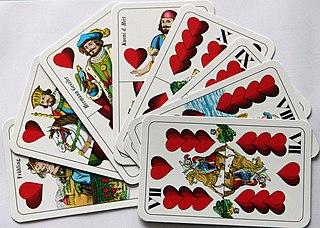 Herzeln card game