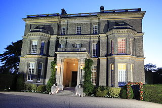mansion in Hedsor in Buckinghamshire, England