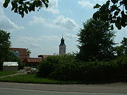 Heggbach Abbey church spire