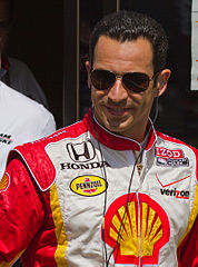 Hélio Castroneves w 2011 roku