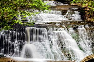 McConnells Mill State Park - Hells Hollow Falls