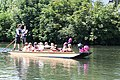 Hen party punting, Cambridge, July 2010.JPG