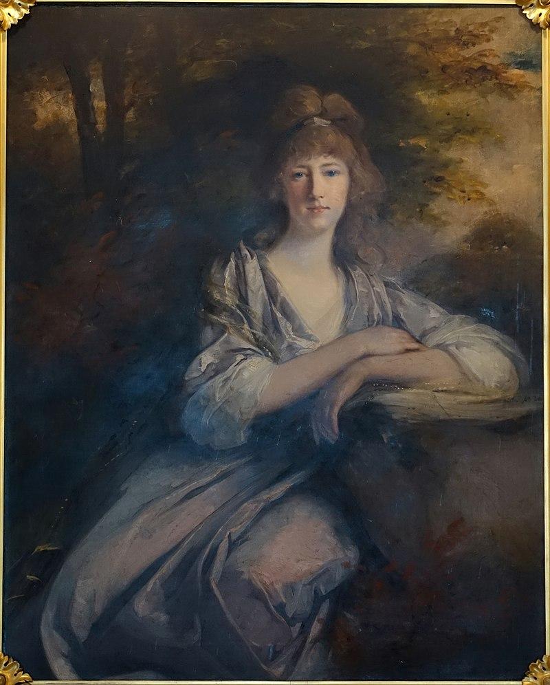 Генриетта, 2-я Графиня Харвуд, Джон Хоппнер, 1796, холст, масло-Желтая гостиная-Harewood House-West Yorkshire, England-DSC01888.JPG