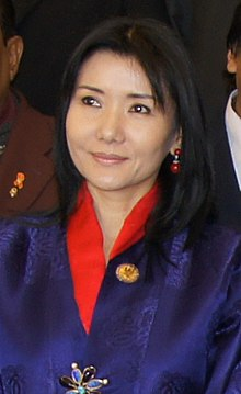 Her Majesty the Queen Mother Ashi Sangay Choden Wangchuck (cropped).jpg