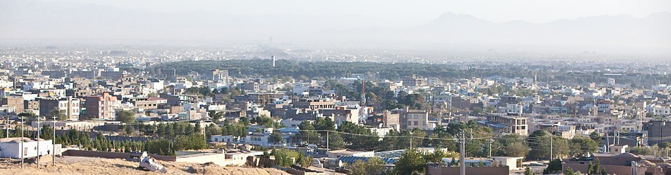Overview of Herat City