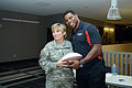 Herschel Walker at Camp Withycombe, 2012 074 (8455386914) (6).jpg
