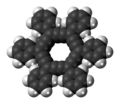 Hexaphenyl-dodecadehydro(18)annulene molecule spacefill.png