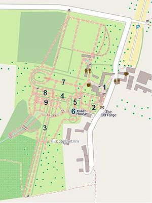 Plan De La Villa De St B Ef Bf Bdzar