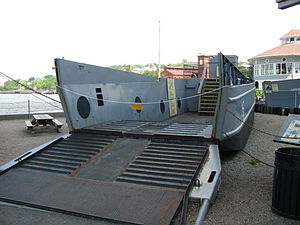 Landing Craft Mechanized - Higgins LCM-3 at Battleship Cove