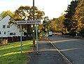Higher Bebington sign, Mount Road.jpg